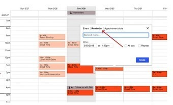 New- You Can Now Add Reminders to Google Calendar on The web ~ Educational Technology and Mobile Learning | TEFL & Ed Tech | Scoop.it