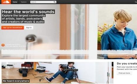 SoundCloud dépasse les 250 millions d'utilisateurs et se synchronise avec Instagram | Projet TICE The Ghost | Scoop.it