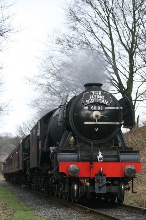 The ten best pictures of the Flying Scotsman's triumphant return | Railway anthology | Scoop.it