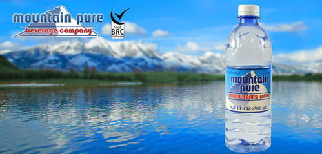 Mountain Pure Beverage | Bottled Water, Flavored Drinks, and Containers | Natural Sleep Aids | Scoop.it