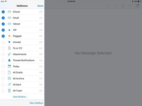 How to Manage and Edit the Mailboxes on your iPad | Ipads Advisor | iPads, MakerEd and More  in Education | Scoop.it