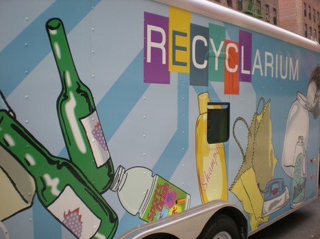 "American Heroes: 4 Regions that scream out loud, ""Recycling Works!"" by Anne Staley 