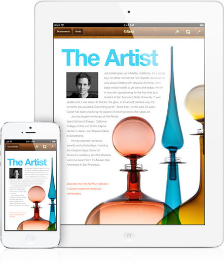 Apple - Pages - Create beautiful documents with a tap. | Must have ipads for ict teachers | Scoop.it