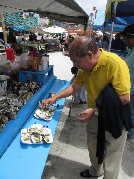 Anyone for oysters?&nbsp;<br/>Popotla, Baja California, Mexico&#65279; | Baja California | Scoop.it