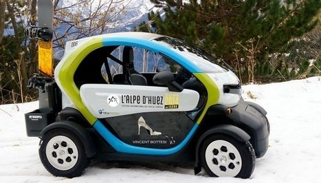 Autopartage électrique : des Twizy pour la station de ski de l'Alpe d'Huez | Le flux d'Infogreen.lu | Scoop.it