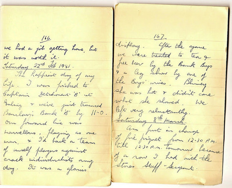 London War Diary: Saturday 22nd February 1941   London War Diary. Original written pages. 1940   Scoop.it