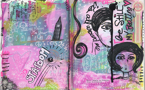 Artist & Author Dawn DeVries Sokol on Creativity, Art Journaling and Being Fearless | Creativity Scoops! | Scoop.it