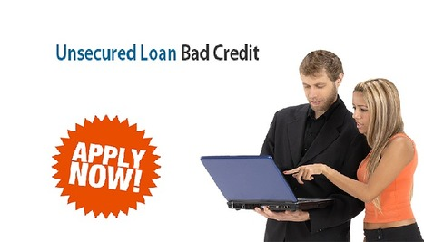 Tempting Features That Makes Unsecured Loan Bad Credit A Popular Financial Approach! | Unsecured Loans Bad Credit | Scoop.it