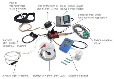 e-Health Sensor Platform V1.0 for Arduino and Raspberry Pi [Biometric / Medical Applications] | e-Health | Scoop.it