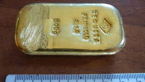 Teenager finds gold bar while swimming in lake in German Alps, police try to determine origin | DiverSync | Scoop.it