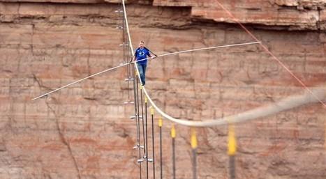 Nick Wallenda atraviesa el cañón del Colorado sobre el alambre - El País.com (España)   Seve Zubiri   Scoop.it