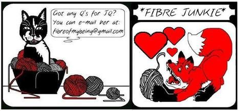 Hearts on Fibre: THE COOLEST THING | Fiber Arts | Scoop.it
