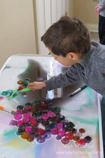 Ice gems | Teach Preschool | Teach Preschool | Scoop.it