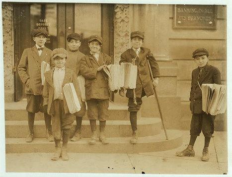 20 photographies édifiantes sur les conditions de travail des enfants au début du XXe siècle | histgeoblog | Scoop.it