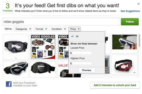 eBay Goes The Pinterest Way and Allows You To Discover and Curate Your Favorite Products | SocialMediaDesign | Scoop.it