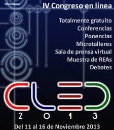 Abierta Convocatoria Congreso en línea #CLED2013 : red #CLED | Tecnotics | Scoop.it
