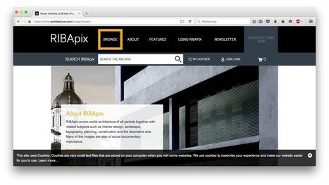 18 útiles recursos de investigación en línea para arquitectos | retail and design | Scoop.it