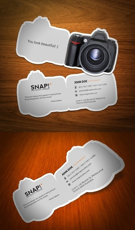 20 Creative Business Card Designs | Content Creation, Curation, Management | Scoop.it