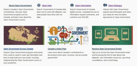 Social Ed. » Blog Archive » Canada's Open Government initiative: The Good, The Bad and The Promises | Open Government Daily | Scoop.it