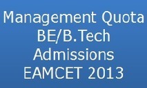 Management Quota BE/B.Tech Category B Admissions EAMCET 2013 www.apsche.org | Aptitude Leader | wipro-hiring-2013-administrator-freshers-jobs-in-chennai | Scoop.it