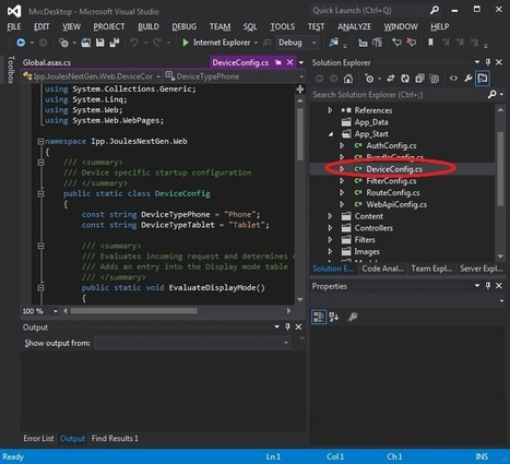 MVC4 Mobile Friendly Web Applications - CodeProject | ASP.NET MVC4 | Scoop.it