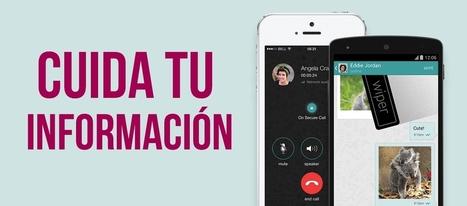 Envía mensajes seguros con esta app   EDUCACIÓN...   Economía&ADE   Scoop.it