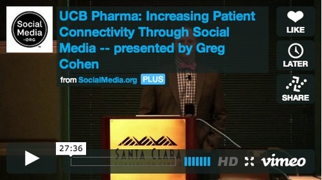 How UCB Pharma created a social strategy around their customers | Health Comm | Scoop.it