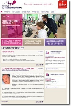 Découvrez le site de l'institut du marketing digital de l'ESSCA ! | Actualités ESSCA | Scoop.it