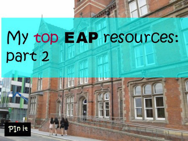 English for Academic Purposes: EAP links | TELT | Scoop.it