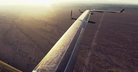 "Facebook's Giant Internet-Beaming Drone Finally Takes Flight | L'impresa ""mobile"" 
