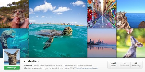 Australia is the most popular country on Instagram! | eT-Marketing - Digital world for Tourism | Scoop.it