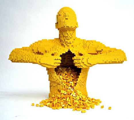 ¡SORPRENDENTES ESCULTURAS DE LEGO! ¡THE ART OF THE BRICK! ARTISTA NATHAN SAWAYA. | arte y artistas | Scoop.it