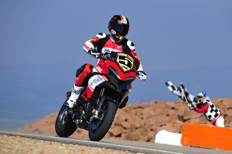 Ducati 1-2-3 at Pikes Peak International Hill Climb | Ductalk Ducati News | Scoop.it