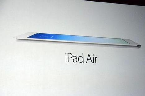 Apple a présenté l'iPad Air et l'iPad mini avec écran Retina - Les Échos   DESIGN   Scoop.it