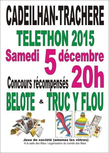 Téléthon 2015 à Cadeilhan-Trachère le 5 décembre | Vallée d'Aure - Pyrénées | Scoop.it