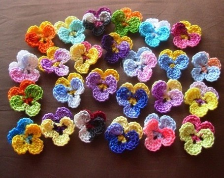 Pansy pattern Craft Supplies | Bizrate