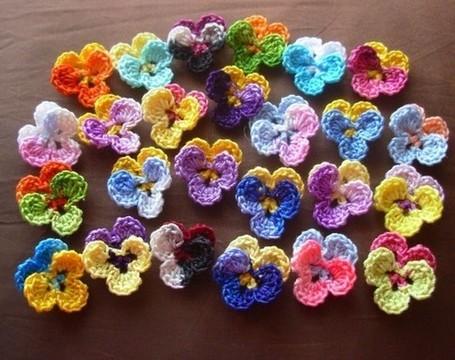 Pansy pattern Craft Supplies | Bizrate