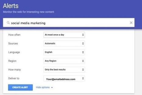 Google Alertes. Outil de veille à redécouvrir | veillepédagogique | Scoop.it