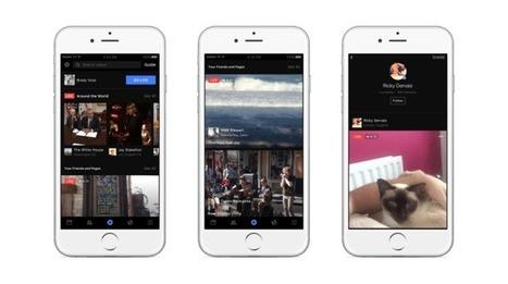 Facebook Live se transforme en une véritable plateforme et intègre de nombreuses nouvelles fonctionnalités.   Social web 2.0   Scoop.it