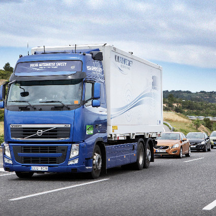 Autonomous 'Road Trains' Will Usher in the Driverless Future | technological unemployment | Scoop.it