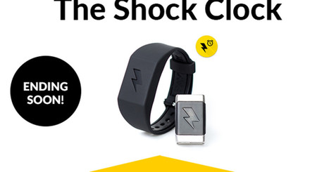 Shock Clock WakeUp Trainer -Never Hit Snooze Again | Futuristic Technologies | Scoop.it