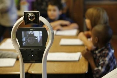 Boy with Severe Allergies Using Robot to Attend First Grade | MICRO TRENDS | Scoop.it