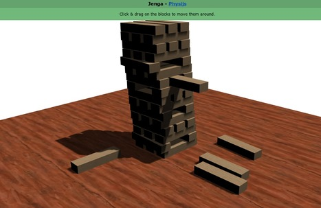 Jenga - Physijs | Amazing HTML5 | Scoop.it