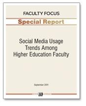 Social Media Usage Trends Among Higher Education Faculty | Faculty Focus | Higher Education Research | Scoop.it