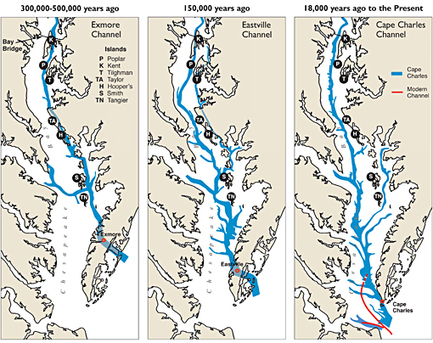 Channeling the Chesapeake: In Search of Ancient Estuaries | Conformable Contacts | Scoop.it
