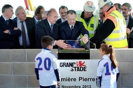 Grand stade de Lyon : la première pierre posée - Les Échos | Les dessous du Grand Stade de l'OL | Scoop.it