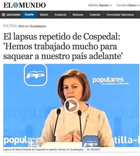 ¿Qué es un lapsus línguae? | Fundamentos Léxicos | Scoop.it