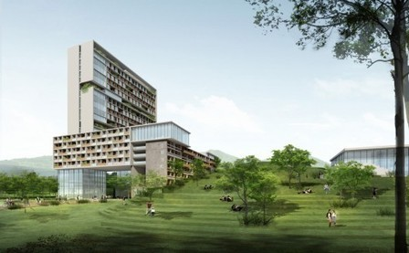 [Shenzhen, China] Chinese University of Hong Kong (Shenzhen Campus) Master Plan Winning Proposal / Rocco Design Architects | The Architecture of the City | Scoop.it