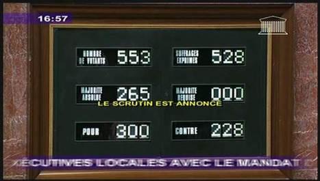 Les députés ont voté la fin du cumul des mandats | Macrophone | Scoop.it