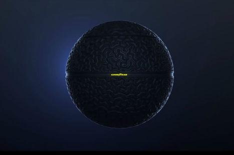 Salon de Genève : Pour Goodyear, le véhicule autonome a des pneus connectés... et en forme de boule | Technologies | Scoop.it